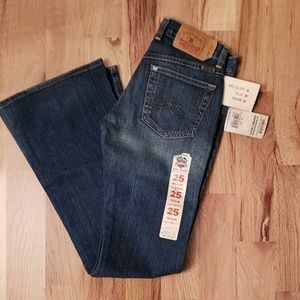 NWT Lucky Brand Jeans Sweet ' N Low sz 0
